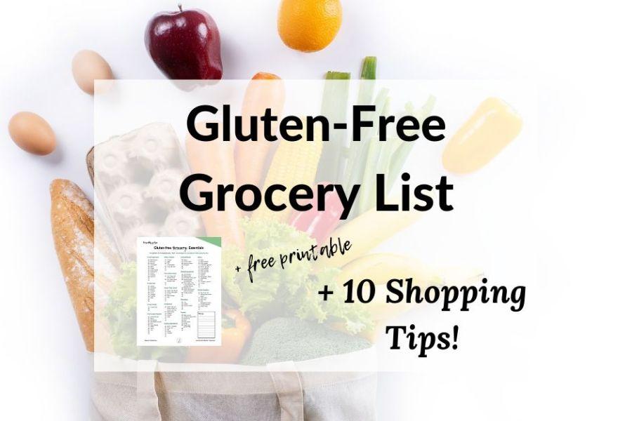 Gluten Free Grocery List Facebook