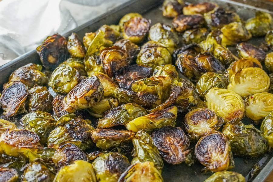 roasted brussel sprouts 1