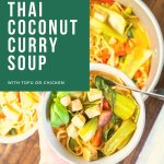 Easy Thai Coconut Curry Soup Pin 1