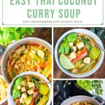 Easy Thai Coconut Curry Soup Pin 2