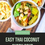 Easy Thai Coconut Curry Soup Pin 6