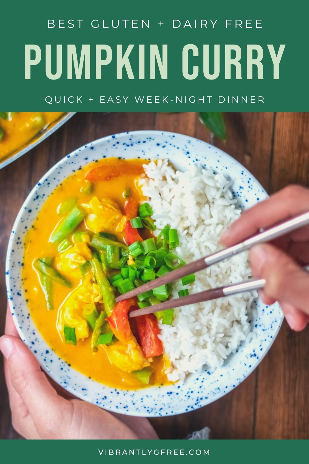Pumpkin Curry with chicken PIN 5