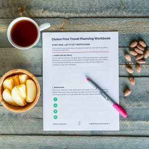 Gluten free travel workbook