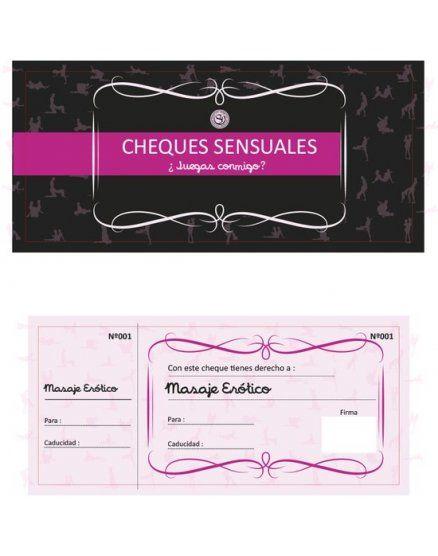 Cheques sensuales, Juegos para parejas en Vibrashop