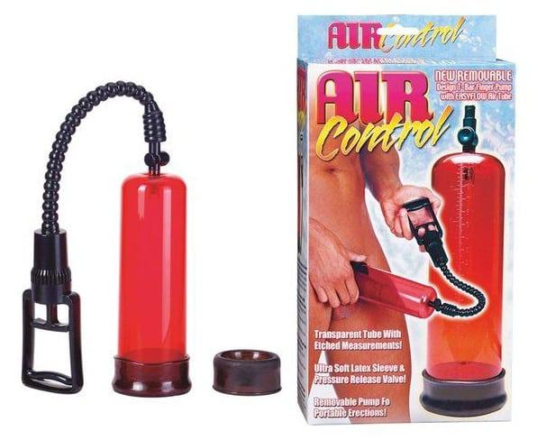 alargador de pene air control seven creations rojo