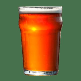 Rav-farvet øl