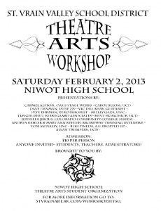 Theatre Arts Workshop