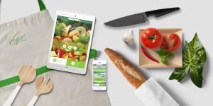 Vego Salad Bar Mobile Website