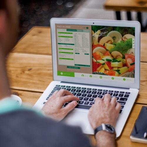 Vego Salad Bar Website Project