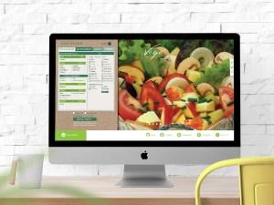 Vego Salad Bar Website Design