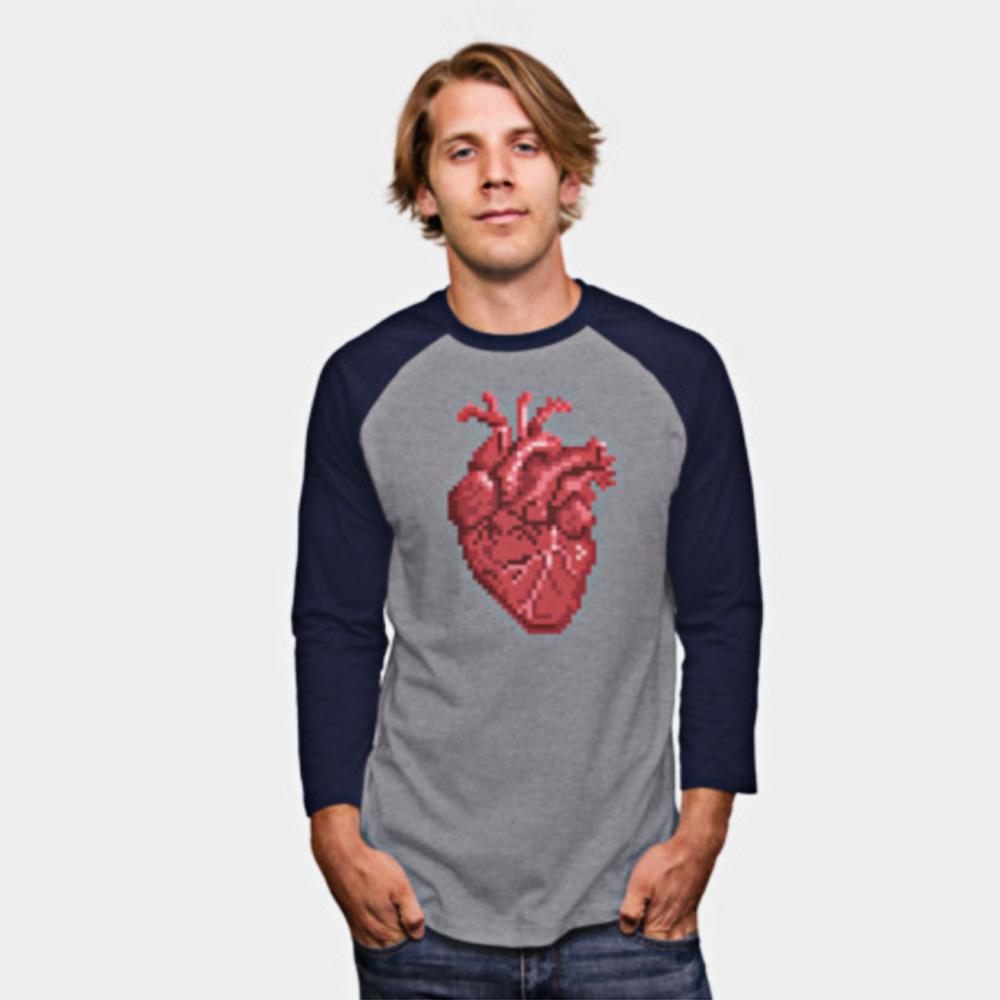 Vice Design Co. apparel 8-bit Heart
