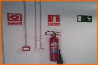 Self Storage. Medidas contra incendios
