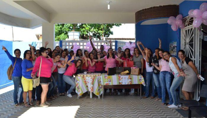Em Vicência, Secretaria Municipal de Saúde celebra dia Internacional da Mulher