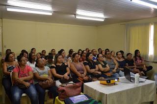 Secretaria de Educação promove formação para merendeiras