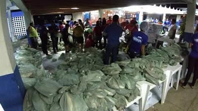 Prefeitura de Vicência realiza distribuição do peixe para semana santa