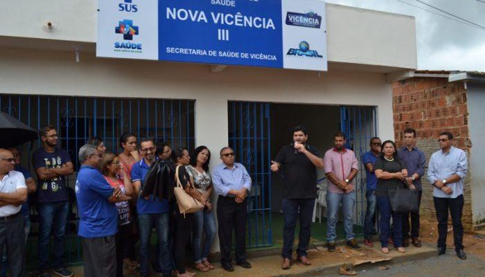 Prefeitura de Vicência inaugura mais um PSF