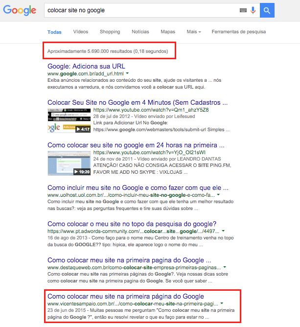 posicao-site-no-google 11 Técnicas de SEO Para Começar Hoje e Triplicar as Visitas do seu Site