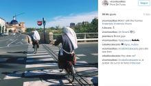 Monjas ciclistas