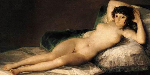 Goya té mala rima en castellà.