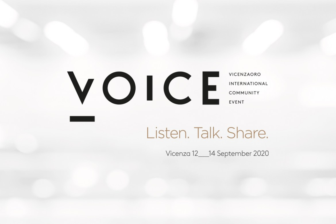 VOICE: a new project to give voice to the jewellery industry