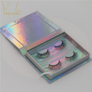 fast delivery customized packaging 3d mink eyelashes