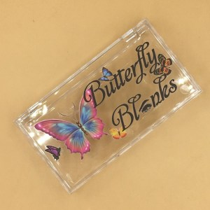 custom Butterflies lash boxes