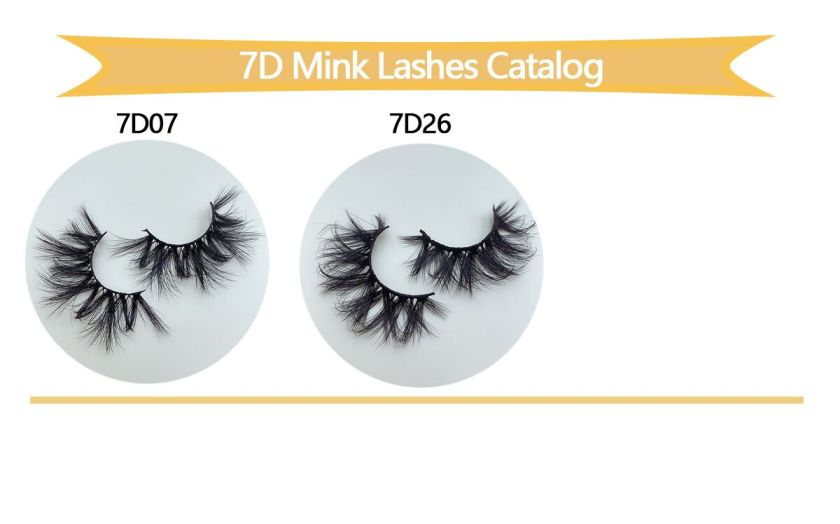 7D Wholesale Mink Lashes styles