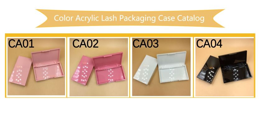 Acrylic Lash Packaging Case
