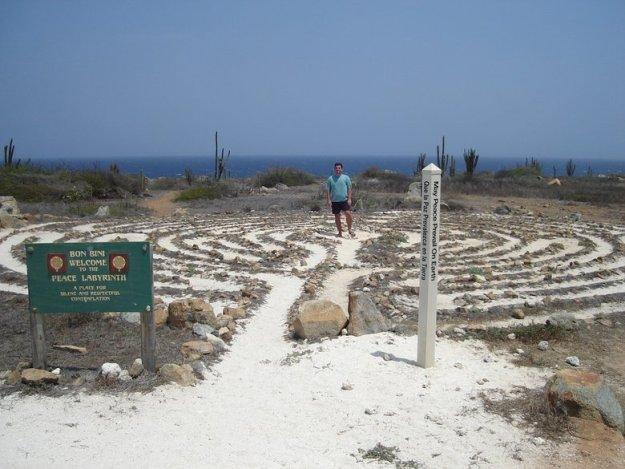 o que fazer aruba Labirinto da Paz: