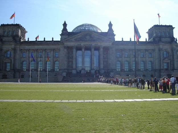 berlim parlamento fila