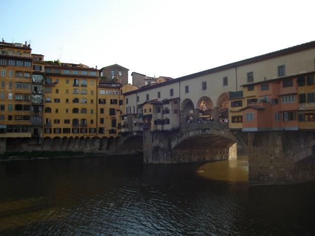 A Ponte Vecchio, cartão postal de Florença. Foto: Marcelle Ribeiro