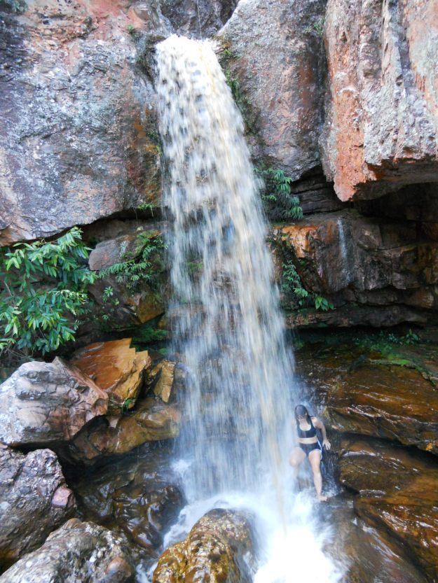 A cachoeira da Primavera. Foto: Marcelle Ribeiro