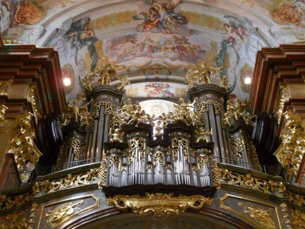 órgão igreja melk