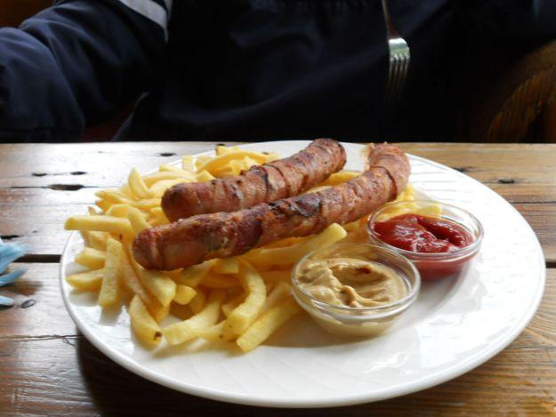 wurst comida típica austríaca