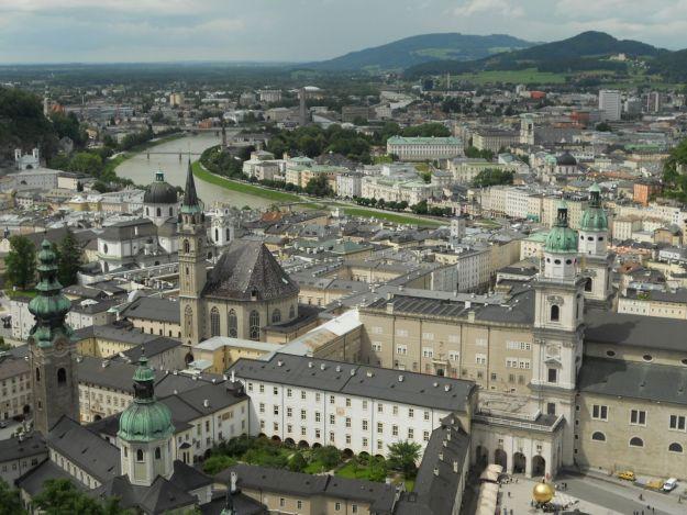 salzburg vista do alto