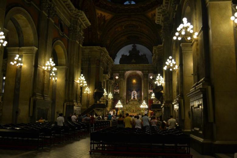 Igreja da Candelária, no Centro do Rio. Foto: Gustavo Calil