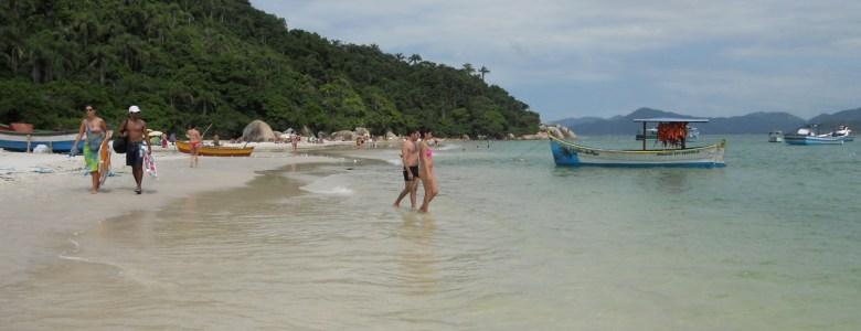 Florianópolis: passeio de barco para a ilha do Campeche