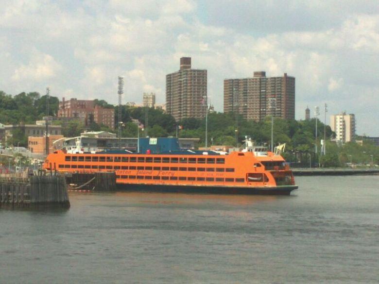 O ferry que sai de Manhattan para Staten Island. Foto: Guilherme Calil