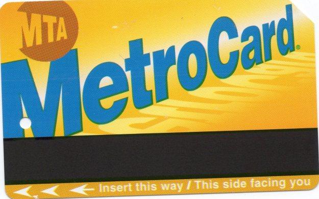 Metrocard.