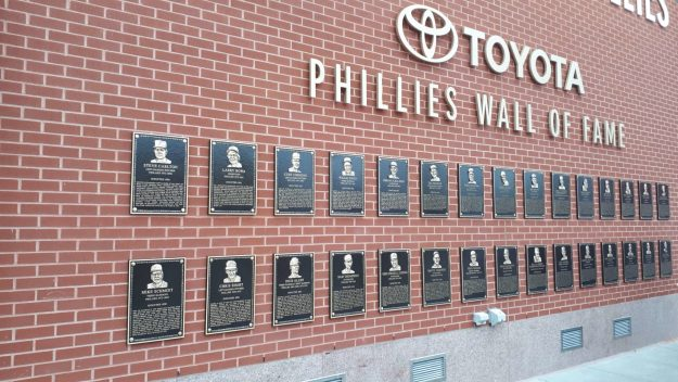 O Wall of Fame dos Phillies