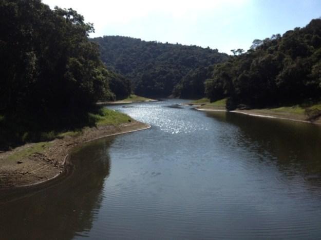 parque da cantareira trilhas represa