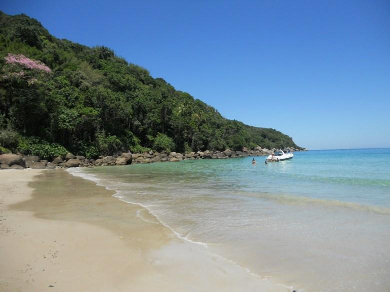 Praia de Lopes Mendes, em Ilha Grande, uma das mais bonitas do Brasil. Foto: Marcelle Ribeiro