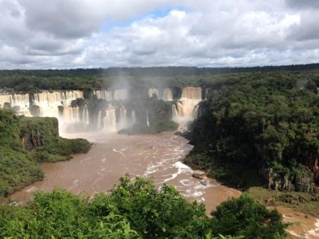 cataratas do iguacu lado brasileiro paisagem