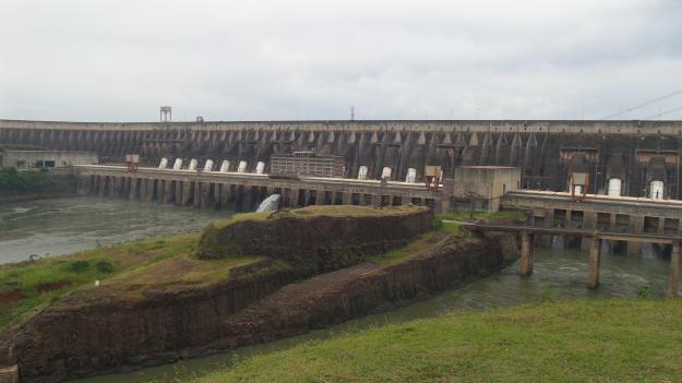 Usina de Itaipu. Foto: Marcelle Ribeiro