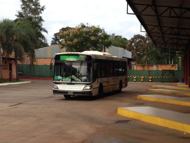 ônibus como se locomover em foz do iguaçu