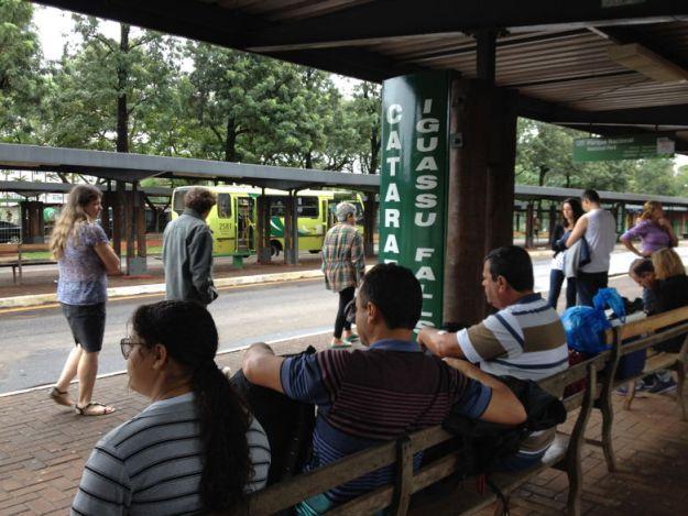 terminal de transporte urbano como se locomover em foz do iguaçu
