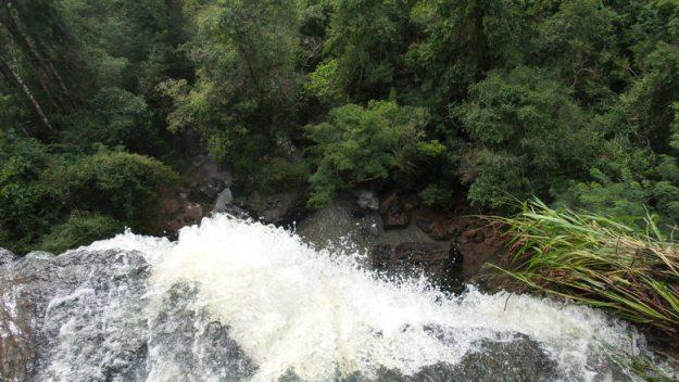 cachoeira de cima sendero macuco