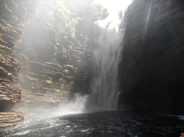 Cachoeira do Buracão, na Chapada Diamantina. Foto: Marcelle Ribeiro