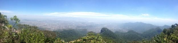 vista panorâmica pico da tijuca