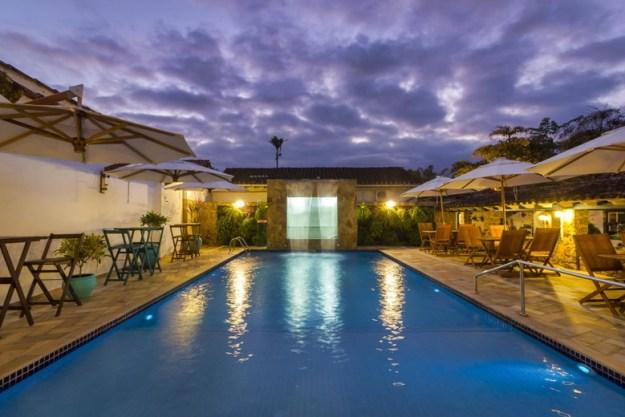 piscina pousada aconchego onde ficar em Paraty